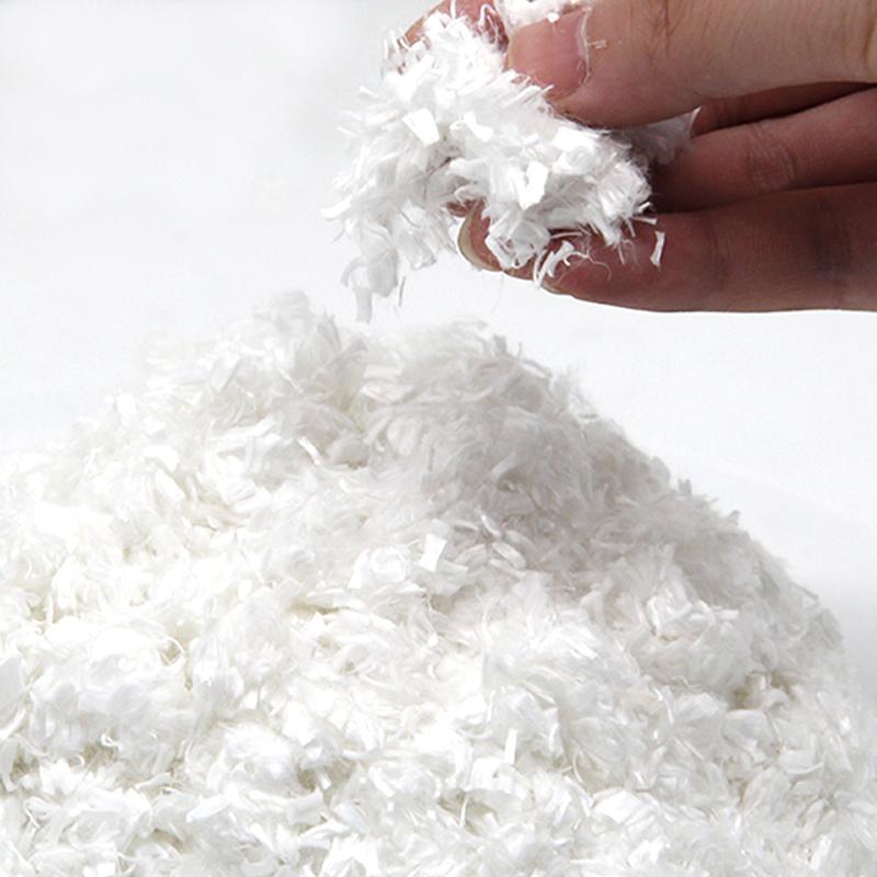 Машинное изготовление шерсти для домашних животных, 3 Плотность полиэстера, переработанное оптовое заполнение переработанного полиэфирного волокна