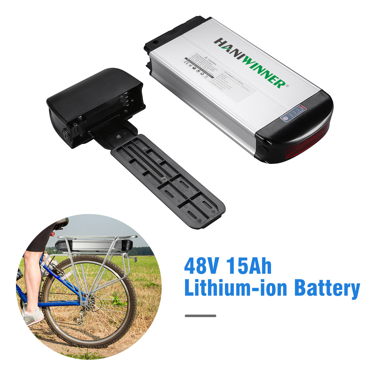 [EU STOCK] Green pedal Top Quality 36v 48v 10ah 20ah Electric Bicycle Lithium 18650 Cell Rechargeable Battery