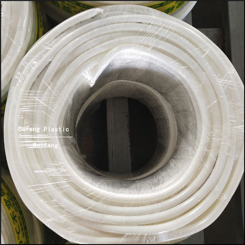 High Quality Rounded PVC Non-toxic and Durable Acrylic Tube for Agriculture