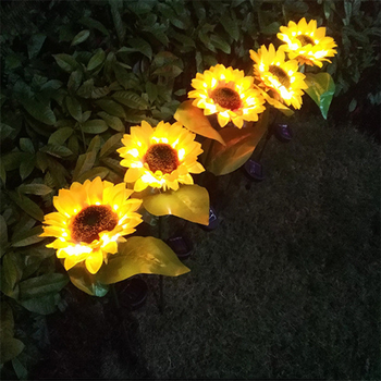 Wedding Stake Lights Lawn Lamp Garden Path Solar Power Outdoor Luminous LED Landscape