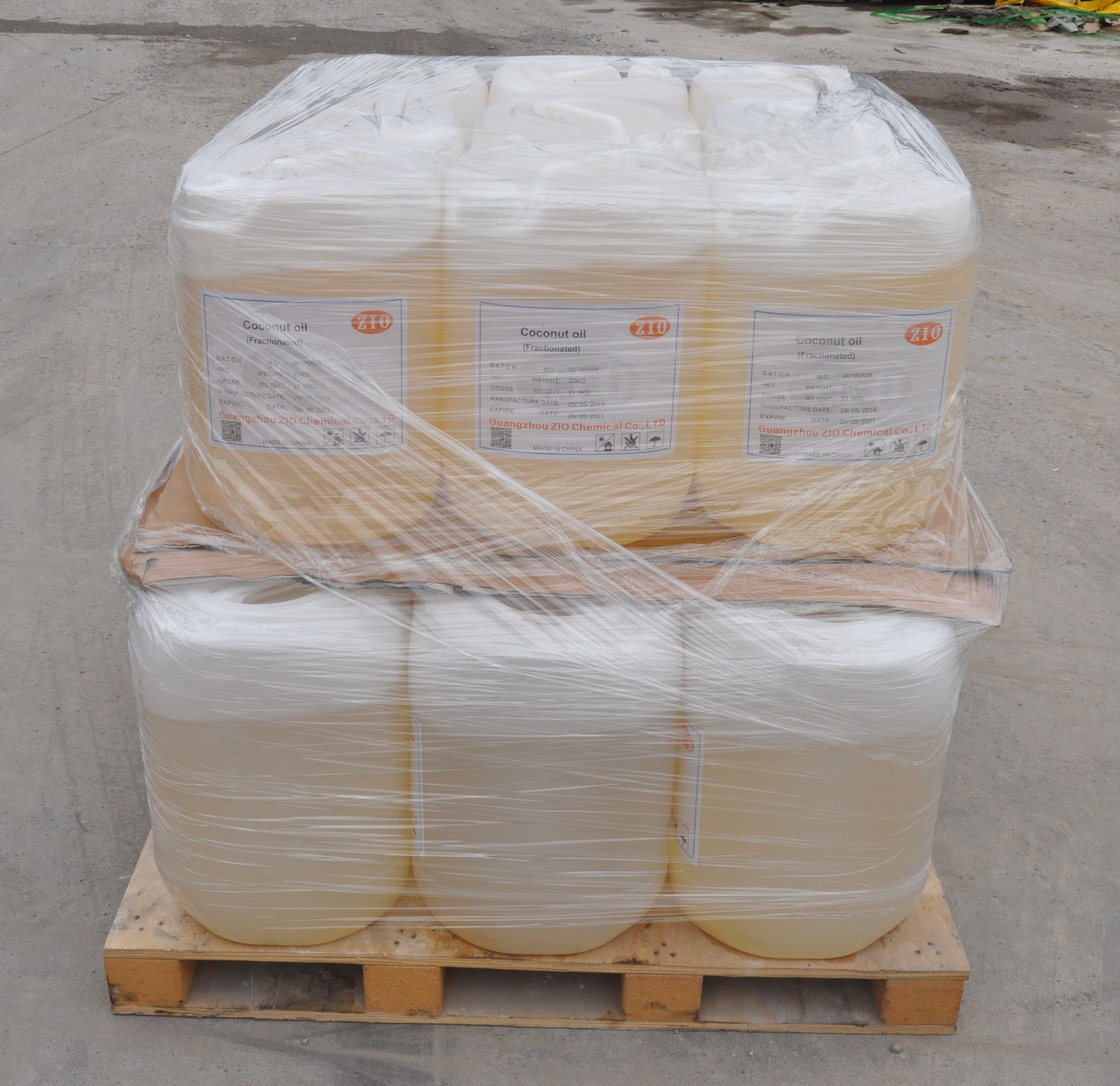 Дезодорированное кокосовое масло RBD из Индонезии