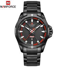 NAVIFORCE люксовый бренд, модные часы, мужские роскошные кварцевые деловые мужские часы, спортивные мужские водонепроницаемые наручные часы, му...(Китай)
