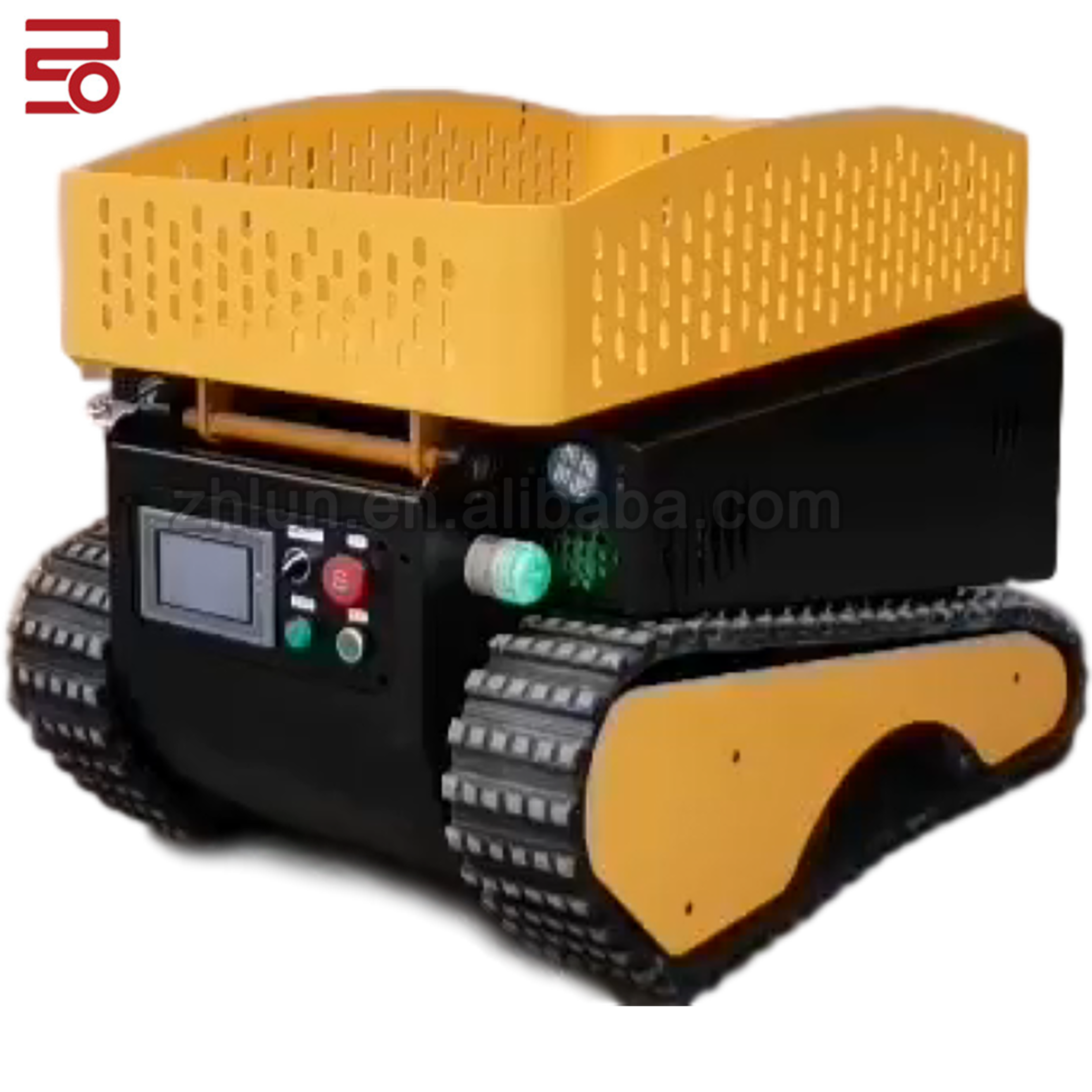 Guangzhou Double Track AGV With SLAM Laser Navigation For 200 KG Load Capacity