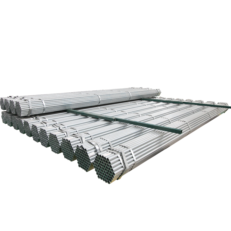 thread hot dipped galvanized steel pipe/pre galvanized round pipe/gi tube with clamp half round steel tube