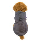 Winter Jacket 2020 Autumn And Winter Cold And Warm Wrap Head Pongee And Rib Stretch Fabric And Polar Fleece Thickened Pet Jacket