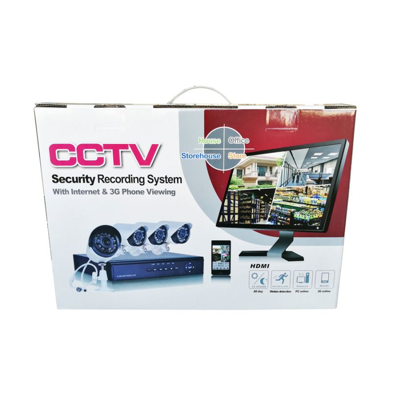 Hot selling 8 Channel good night vision Security Recording cctv cameras System 1080P AHD CCTV DVR Kit