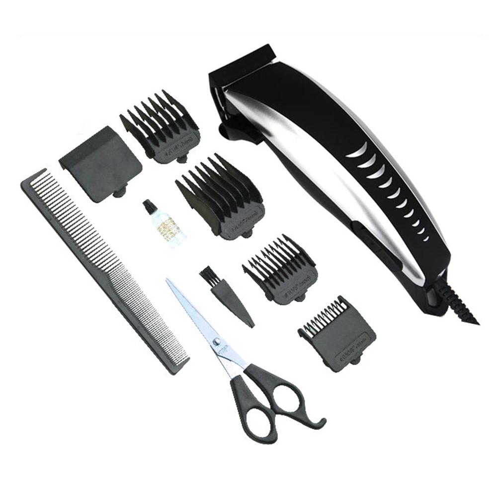 Машинка для стрижки волос PRITECH, мужской электрический триммер, парикмахерские машинки, профессиональный триммер для волос
