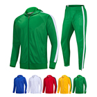 Sweat Suits Sweat Suits Men Wholesale OEM Men Plain Sweat Suits With Contrast Stripe Hooded Jackets Men Jogging Tracksuit With Hood