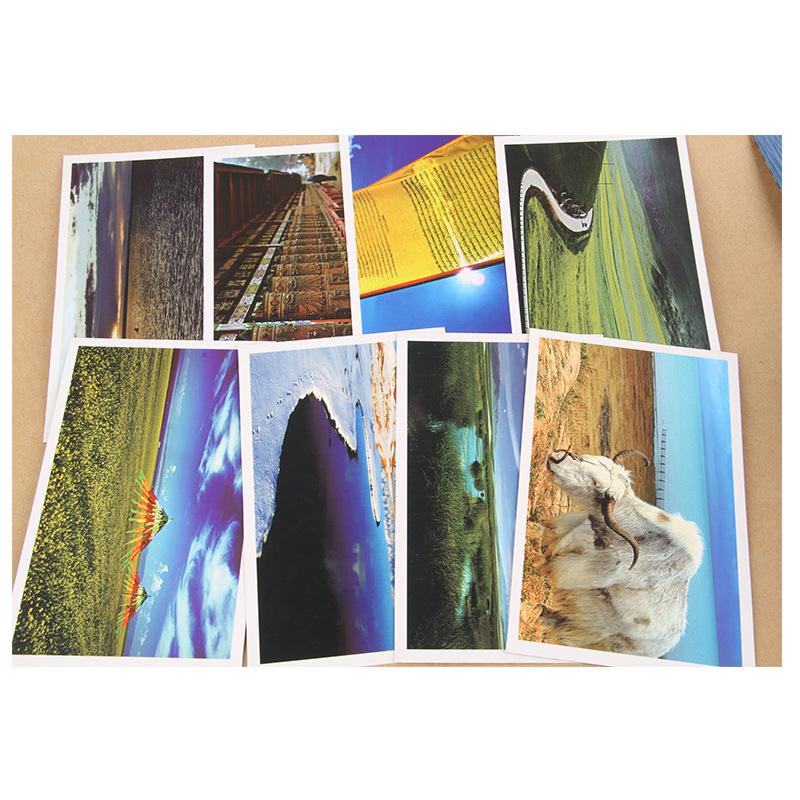 Luxury custom print size 4x6 colorful postcard printing business card printing luxury