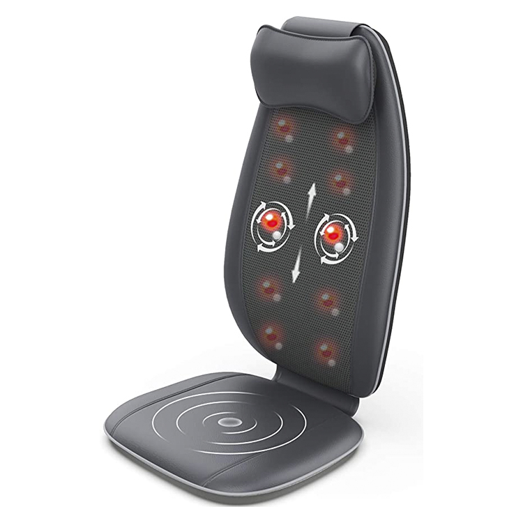 Shiatsu Massage Cushion  Car Seat motor vibration  cushion acupressure With Heat