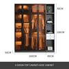 4 door+top cabinet+side cabinet