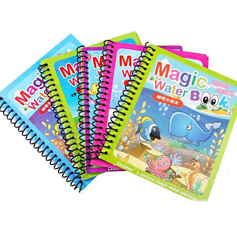 New Educational Toy Reusable Doodle Mat Magic Water Drawing Book For Kids