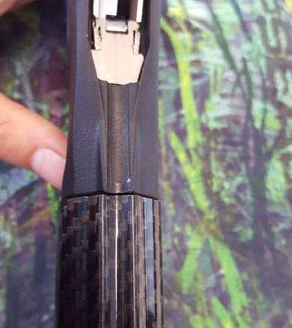 underwater carbon fiber speargun barrel/tube for spearfishing equipment