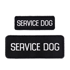 Service Dog Factory Wholesale SERVICE DOG ESA EMOTIONAL SUPPORT ANIMAL Custom Embroidered Dog Badges Patches