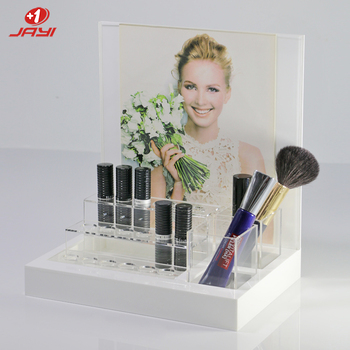 JAYI Factory wholesale custom acrylic make up display stand