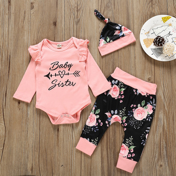 wholesale pink baby clothes baby girl cotton rompers new born baby clothes