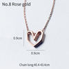 8#Rose gold-555709301553