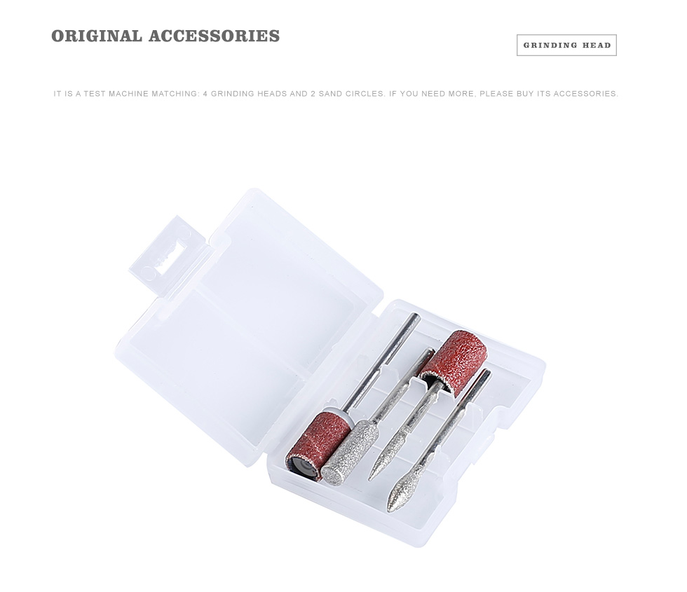 Nail Drill Electric Machine 303 35000rpm Apparatus for Manicure Milling Cutters Drill Set Remover Nail Tools