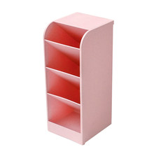 Новый многофункциональный 4 сетки Настольный ящик для хранения косметики флеш-накопитель Карандаш Чехол макияж организатор стол держатель(Китай)