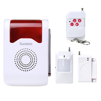 Danmini GSM Alarm system Monitor Remote Control Home Security Alarm system 110 DB cyclic alarm sound