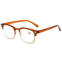 UVLAIK Ретро негабаритных рисовых ногтей очки для чтения для женщин классические мужские винтажные большие рамки TR90 сверхлегкие пресбиопичес...(Китай)