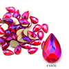8# 4*6mm Drop Red AB