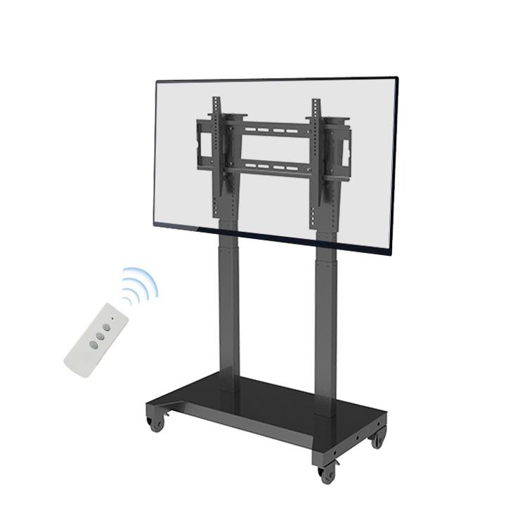 Электрическая тележка для ЖК-телевизора, телевизионный подъемник, подъемник с двойной стойкой, телевизионный подъемник с системой подъема тележек