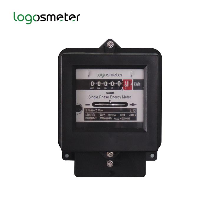 Electric compteur monophasé kWh simple ou double Taux