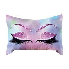 2019 наволочка для подушки 30*50 см, мягкие бархатные наволочки для подушек с рисунком, окрашенные кровати для дома, гостиной, Cojines Decorativos(Китай)