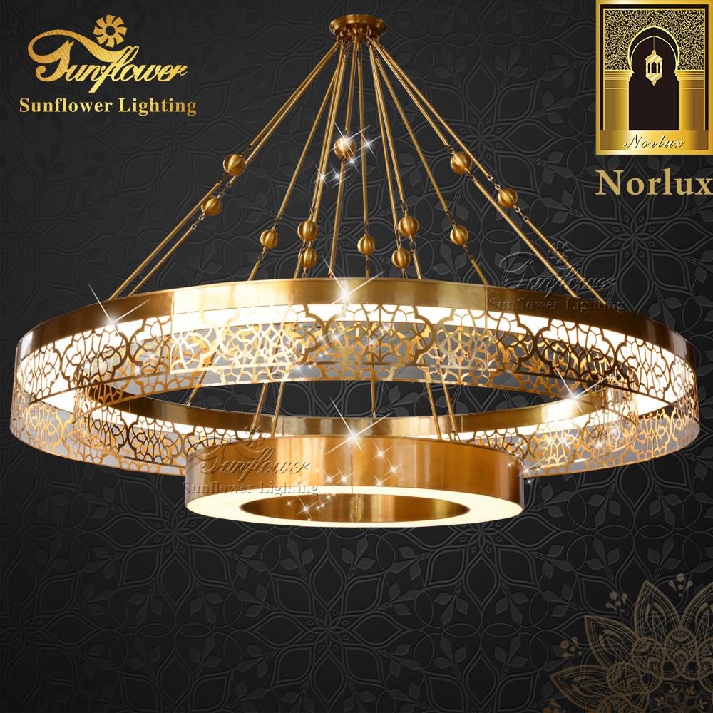 Освещение для мечети большая люстра для украшения церкви лампа для мечети люстра большая Подвесная лампа проектный светильник