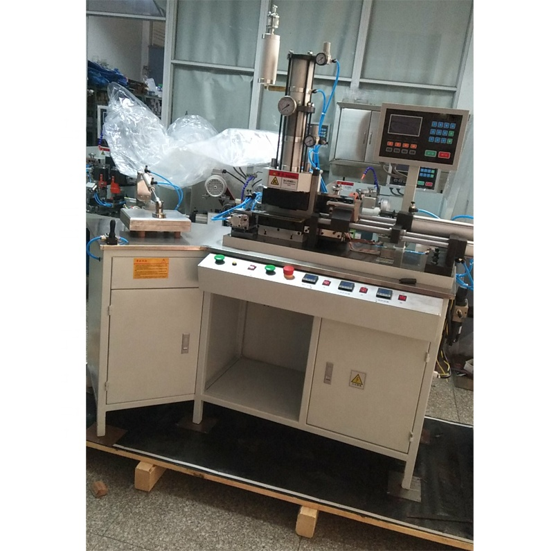 optical frame machine core inserting machine with double axis to produce eyeglasses temples