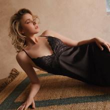 Сексуальное Ночное Платье, Женское ночное белье, Кружевная комбинация, ночная рубашка, открытое искушение, открытая спина, шелковая ночная ...(Китай)