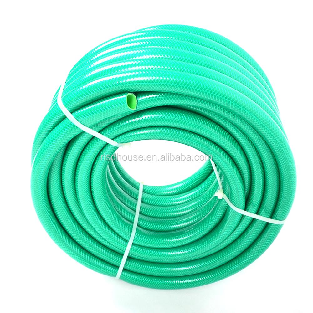 PVC Discharge Hose Flexible Conduit Pipe Customized Color / Size Garden Water Hose