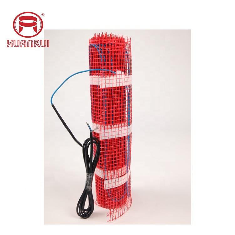 Underfloor heater T mat radiant / floor warming   floor heat cable under wooden floor heating mat