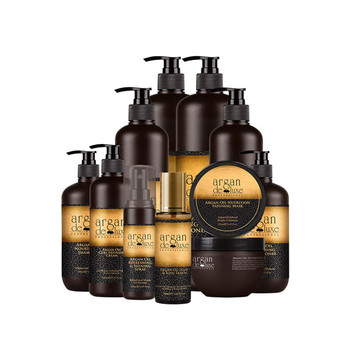 The Whole Series Private label Argan Oil Cosmetic Hair Care &Treatment Products