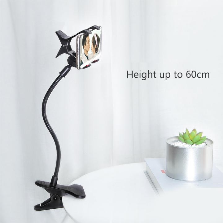 360 Degree Rotation Lazy Phone Stand Tablet Bracket Flexible Long Arm Gooseneck Mobile Phone Holder