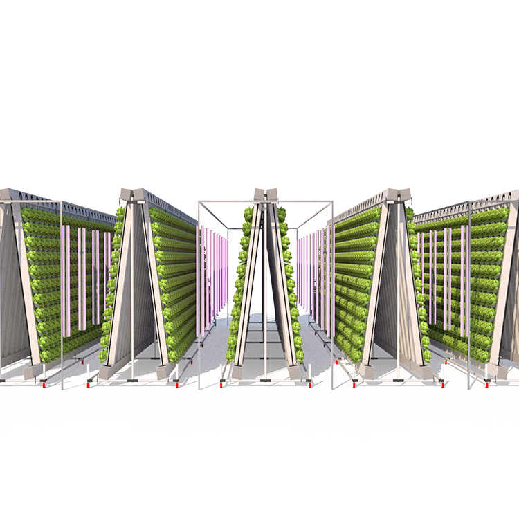 2020 aeroponics indoor grow tower vertical hydroponics systems square tube growing