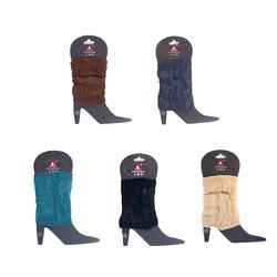 Custom acrylic AB cable  leg warmers new warm fashion winter women's leg warmers oem wholesale factory