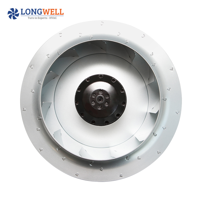 450mm diameter AC 230V 115V 380V Backward curved capacitor external rotor motor centrifugal fan for ventilation system