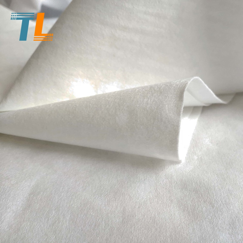 spunlace nonwoven fabric rolls made of polyester material sample
