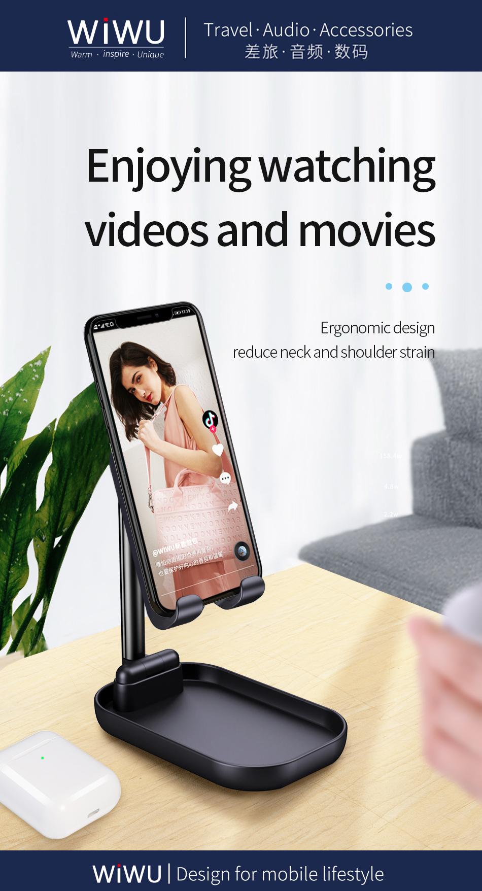 WiWU ZM100手机支架 (https://www.wiwu.net.cn/) 手机支架 第3张