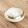 base ashtray White