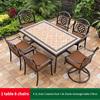 23-4 JL chair 2 swivel chair 1 AL frame table 170cm