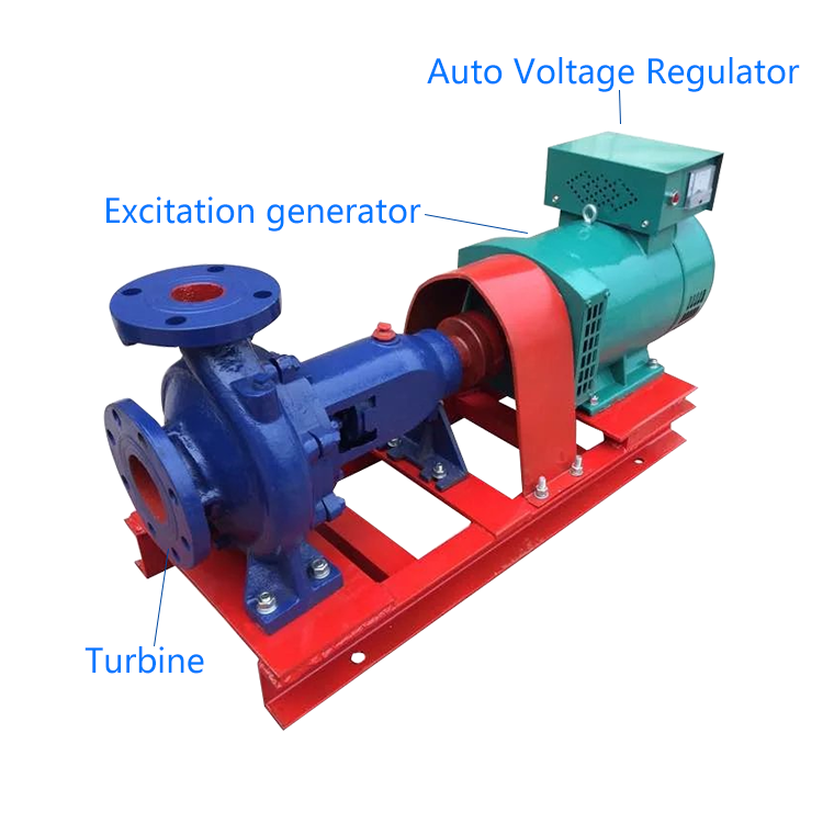 Микро-гидроэлектростанция, турбина Френсиса, мини-гидрогенератор 5 кВт, небольшие гидроэлектрические водяные генераторы