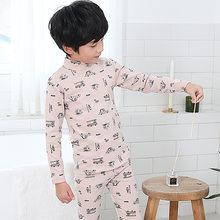 NANJIREN/Детский комплект с подштанниками для девочек, теплая зимняя одежда, комплект для малышей-подростков, Детские подштанники, комплекты ни...()