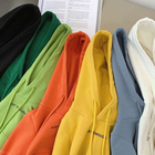 Cotton Hoodies Wholesale 100% Cotton Boys Solid Color Letter Printing Hoodies Kids