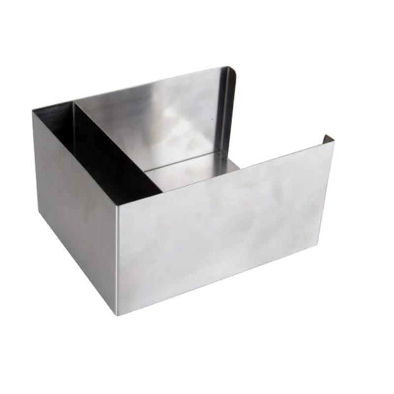 Хорошее качество дешевая нержавеющая сталь Белая Квадратная салфетка для бара держатель соломы