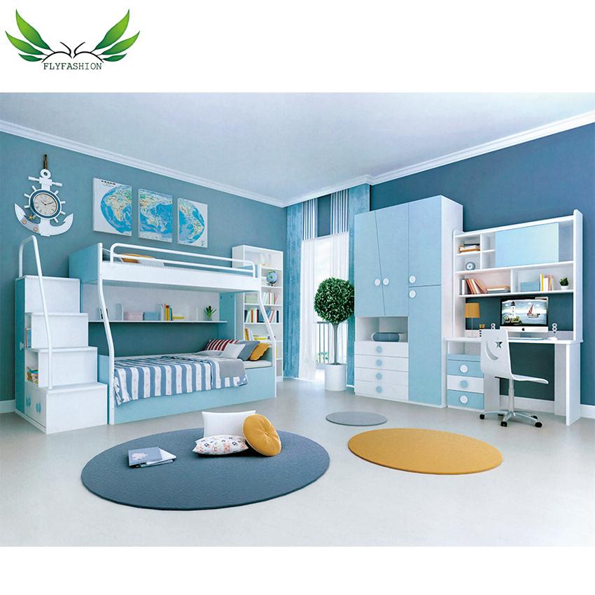 Sky Color Design Kids Bedroom Furniture Sets/ High Quality Kids