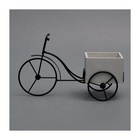 Table Decoration Iron Table Decor New Design Creative Table Iron Storage Bike Decor For Home Decoration