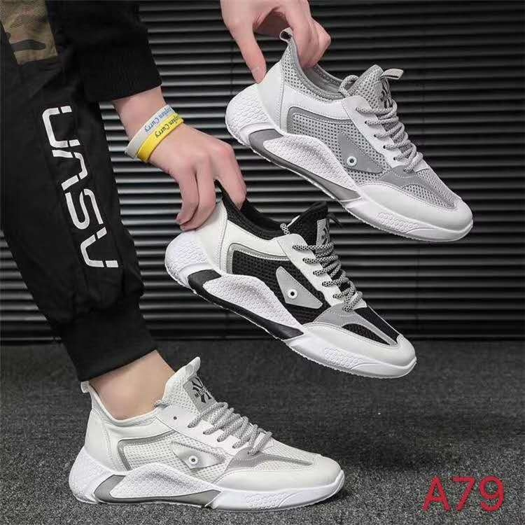 New style rubber sports shoes running sports stock shoes casual sports shoes for man in China